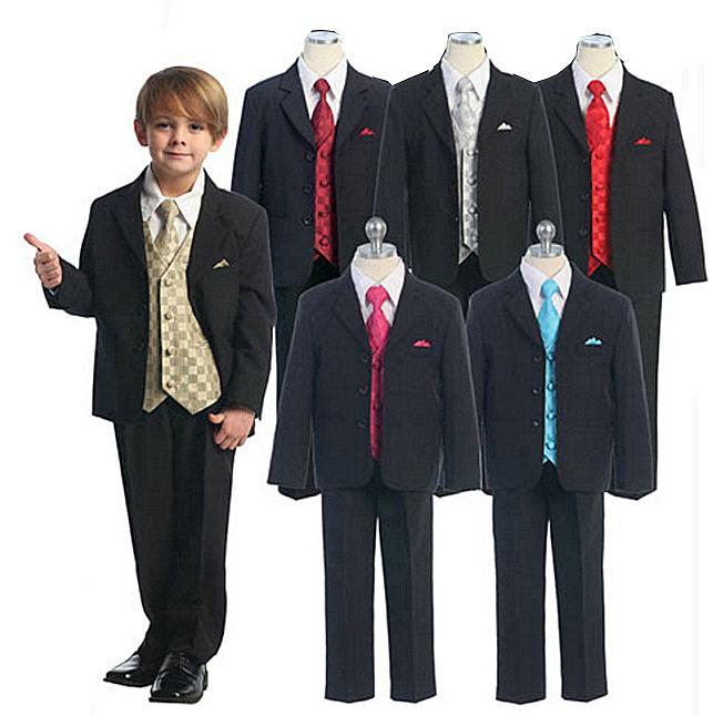 4e5c955daa 1-16 éves korig 5-6 részes gyerek öltönyök frakkok szmokingok minden  színben és fazonban
