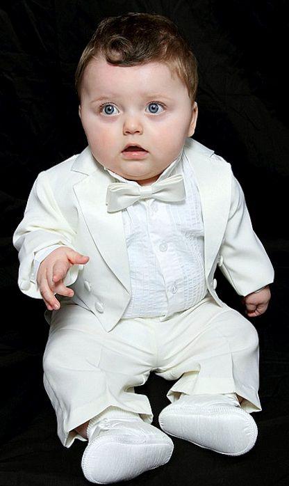 9e5f234b55 Keresztelő Szmoking 006 : kisbaba -bébi -kisfiú öltöny -frakk -szmoking  vállaszték 1